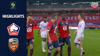 LOSC LILLE - FC LORIENT (4 - 0) - Highlights - (LOSC - FCL) / 2020-2021