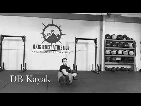 Dumbbell Kayak Row