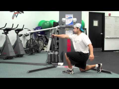 Cable Single Leg Split Squat
