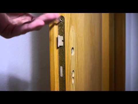 Zimmertürschloss wechseln ausbauen Anleitung FULL HD