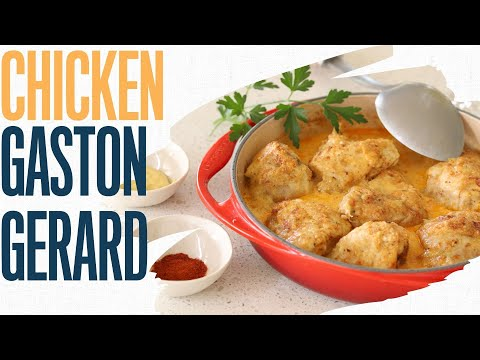 Chicken Gaston Gerard: Learn the history and make the dish  | Famous French chicken recipe