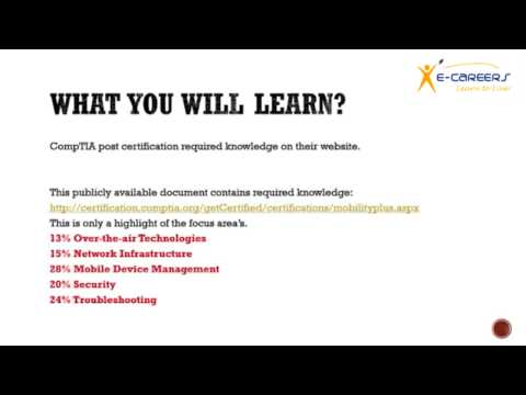 CompTIA Mobility+ - YouTube