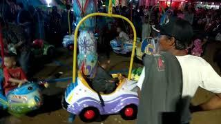 preview picture of video 'Jelang Robo-Robo, Wahana Permainan di Pasar Kakap Dipadati Pengunjung'