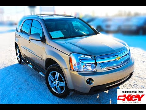 2008 Chevrolet Equinox LT AWD Mp3