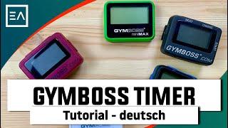 Gymboss Intervall Timer Tutorial - deutsch