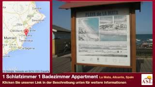 preview picture of video '1 Schlafzimmer 1 Badezimmer Appartment zu verkaufen in La Mata, Alicante, Spain'