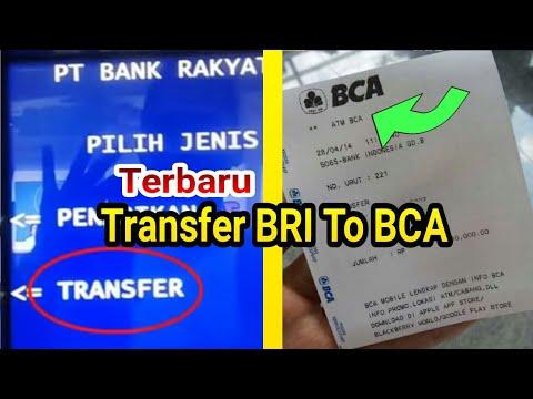 CARA TRANSFER UANG LEWAT ATM BRI KE MANDIRI ATAU BCA TERBARU