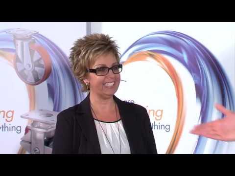 Trends für Möbelrollen und Designrollen von BS-Rollen, vorgestellt bei Beschlag TV von EDE