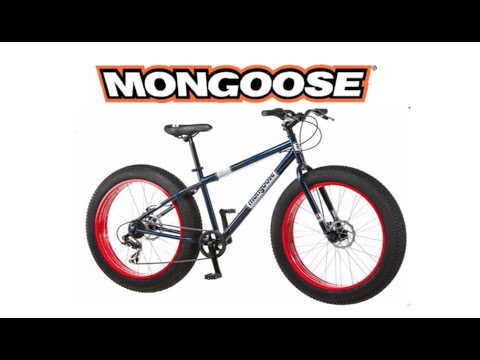 Mongoose Dolomite Fat Tire Bike review and demo ride