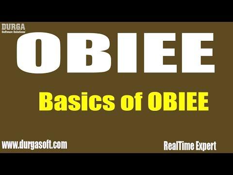 Oracle Business Intelligence || Basics of OBIEE - YouTube