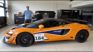 The McLaren 570S GT4 Is a $200,000 Race Car You Can Buy From a Dealer