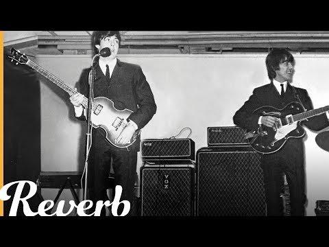 George Harrisons Descending Chords On The Beatles Something Reverb
