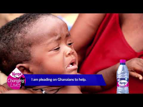 Ghanaian child without genitals lives through