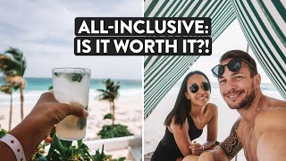 $270 Per Night - Is A Cancun All Inclusive Beach Resort Worth It? | Mexico
