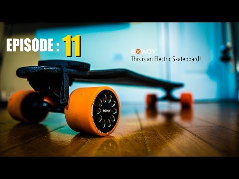 If Elon Musk Made an Electric Skateboard – The Exway Review