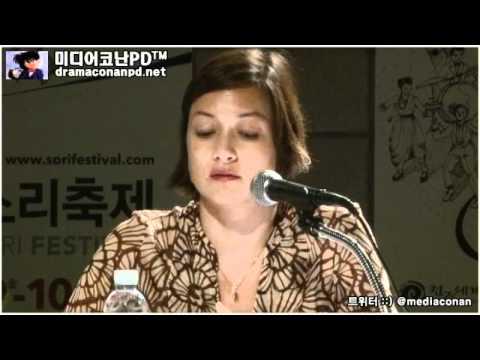 2011. 전주세계소리축제 모델로 나선 김형석과 박칼린