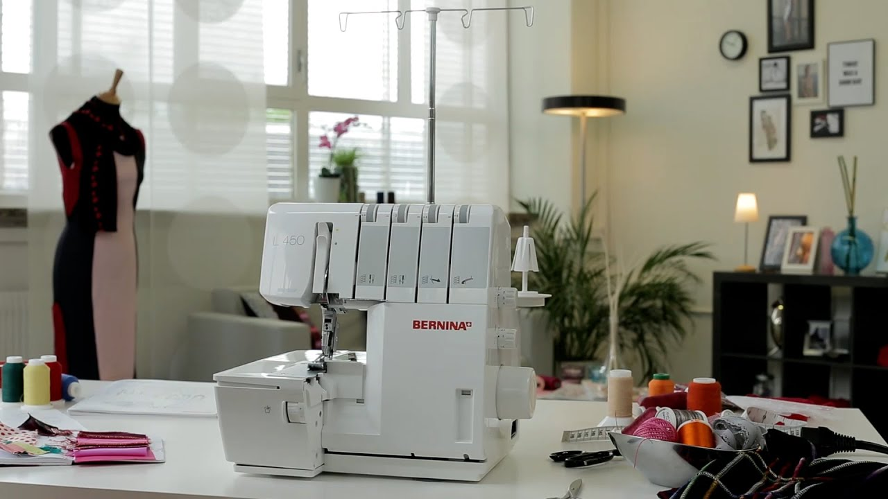 BERNINA L 450: video instructions 2/8