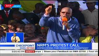 NRM: We will swear in Raila Odinga if Uhuru Kenyatta is sworn as president