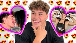 Noah Beck being the BEST BOYFRIEND for 4 minutes straight | AwesomenessTV