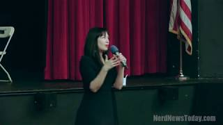 <b>Grey Delisle</b> Panel  BoroughCon 2017