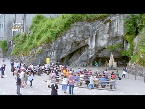 Messe à Lourdes du 22 Juin 2020