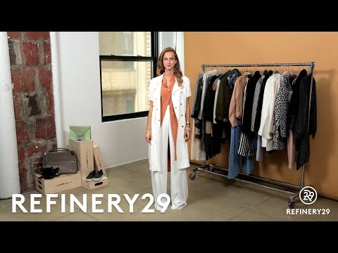 How To Work Wide-Leg Pants | Trend Takeout | Refinery29