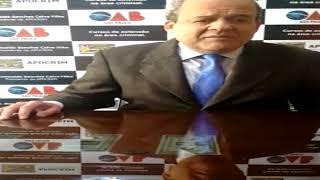 Forma de convencimento do jurado - Dr. Romualdo Sanches Calvo Filho