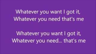 Christina Milian - Whatever You Want (Lyrics)