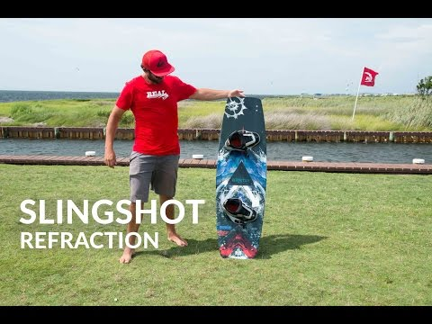2016 Slingshot Refraction Kiteboard Review