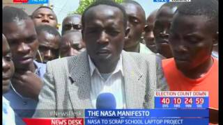 Kenyans give their opinions on Jubilee and NASA manifestos