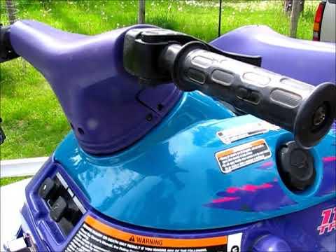 1996 Yamaha 1100 triple wave venture - смотреть онлайн на
