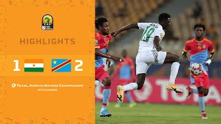 CHAN 2020 | 1er tour – Groupe B : Niger 1-2 DR Congo