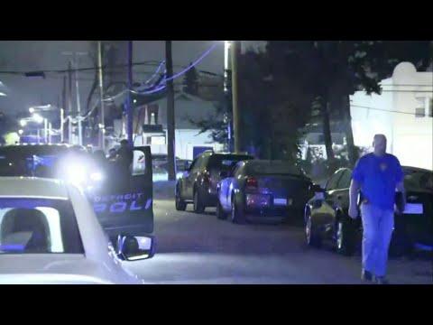 Multiple people shot on Halleck Street in Detroit, at least 1 dead