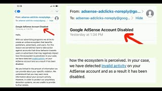 Common Reasons Why Google Terminate Your AdMob Account