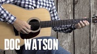 Tennessee Stud Riffs and Strumming - In the Style of Doc Watson - Guitar Lesson
