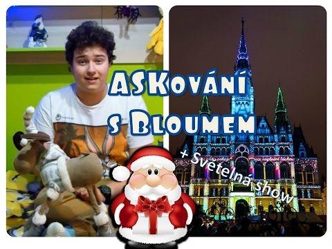 Vánoční ASKování s Bloumem Ep.5- Světelná show - Videomapping Liberec