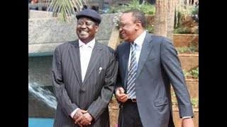 Uhuru Raila to know where rubber meets road is where friendship  should become strong institutions