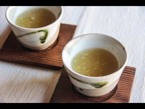 Shogayu (Ginger Tea) Recipe – Japanese Cooking 101
