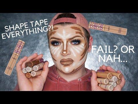 FULL FACE USING ONLY SHAPE TAPE CONCEALER!! | Jack Emory