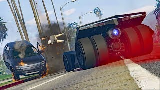 WE GOT KICKED BY THE LOBBY! *BATMOBILE TROLLING!* | GTA 5 Funny Moments
