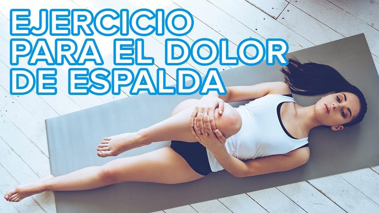 Cómo eliminar el dolor de espalda con un ejercicio casero
