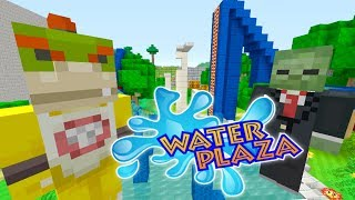 Minecraft Switch - Nintendo Fun House - ZOMBIE INFESTED WATER PARK! [103]