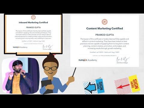 Hubspot Content Marketing Certification Exam Answer 2020 Latest ...