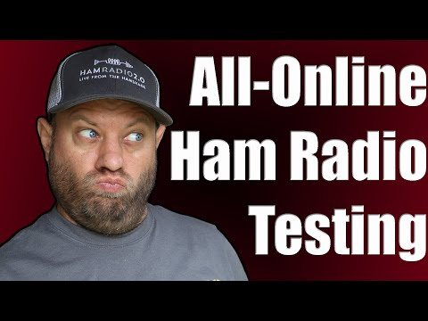 Ham Radio Test Online! - First Recorded Technician License Completion
