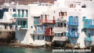 Greece Vacation : Mykonos, Santorini, Patmos, Crete, Athens