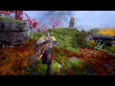 God of War 4 - ¿Cómo abrir el cofre de las Nornas y el cofre dorado del jardín de la casa de Freya?
