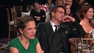 Jamie Foxx Invites Robert Downey Jr. to Daughter's Birthday - 2014 Britannia Awards on BBC America - dooclip.me