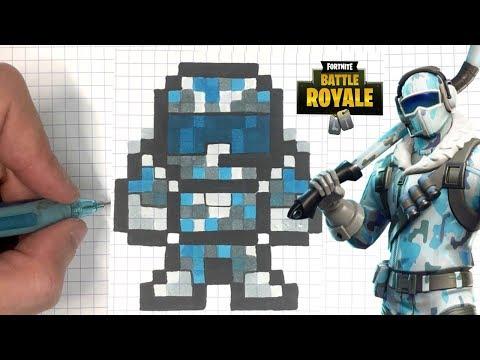 Pixel Art Fortnite Skins