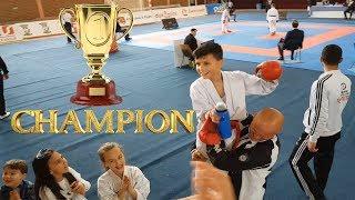 Hamza u bë kampion i Kosoves ne karate !!!! VLOG