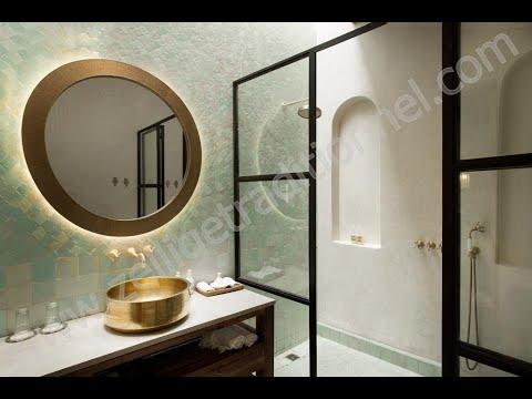 salle de bain, Spa, Hammam, fontaine, piscine en zellige ...